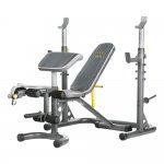 Banco Supino Golds Gym XRS20 com Suporte de até 140kg