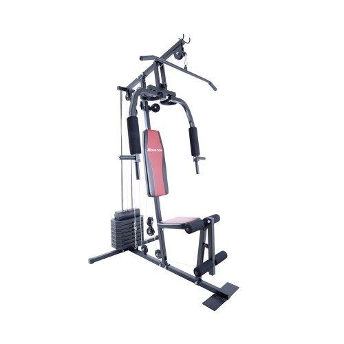 Estação de Ginástica Houston Home Gym EG15A / 15 Exercícios / até 100 kg / Grafite