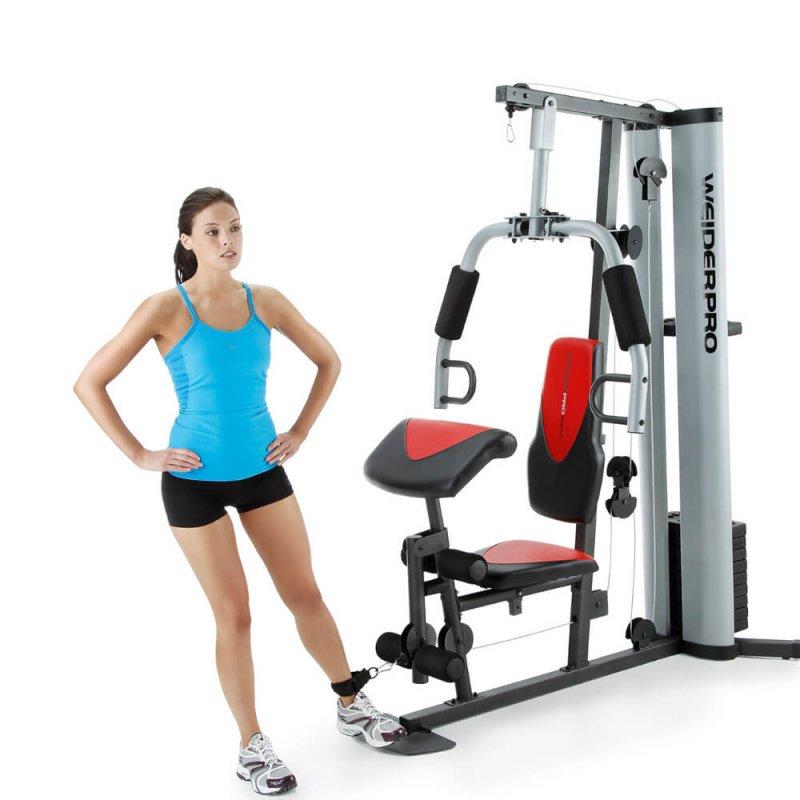 Estação de Musculação Weider Pro 6900 até 150 kg
