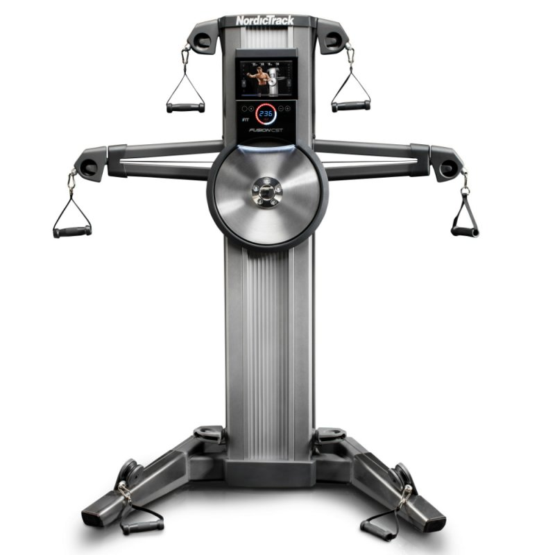 Estação de Musculação Nordictrack Fusion Cst Prata e Cinza