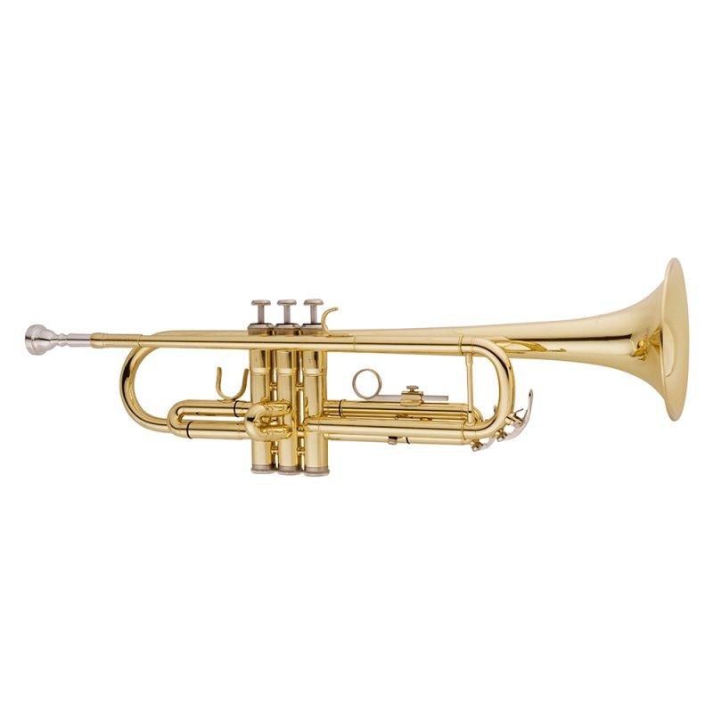Trompete Vogga VSTR701 Laqueado Acompanha Case Térmico