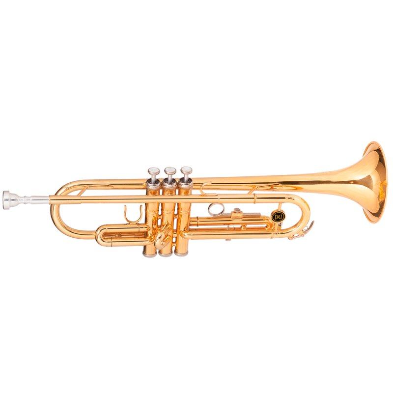 Trompete Dual Gold Michael WTRM48 Acompanha Case Mochila