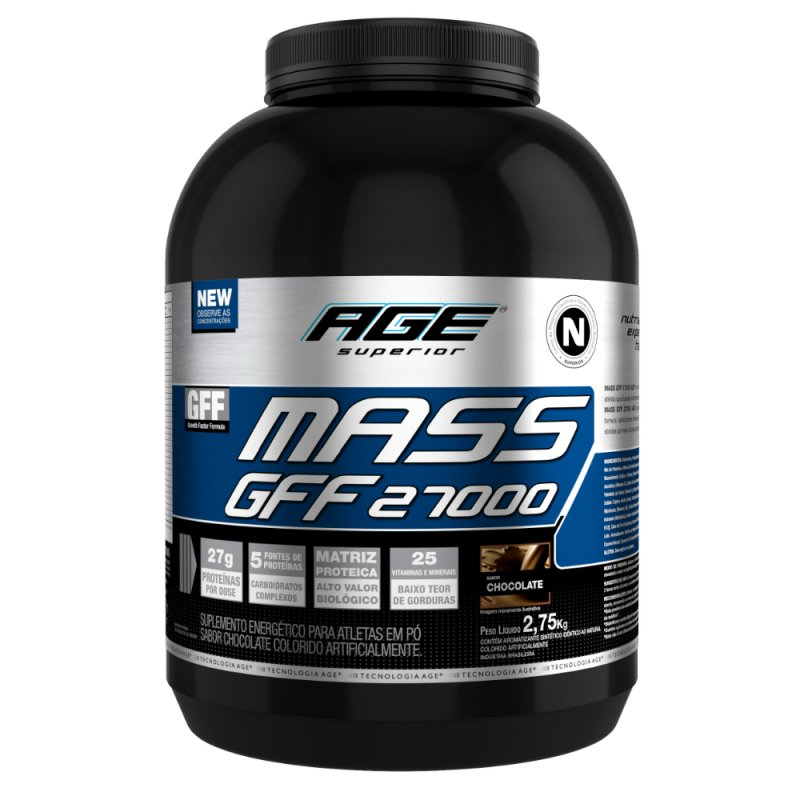 Anticatabolic Mass 27000 Nutrilatina - 2,75kg - Chocolate