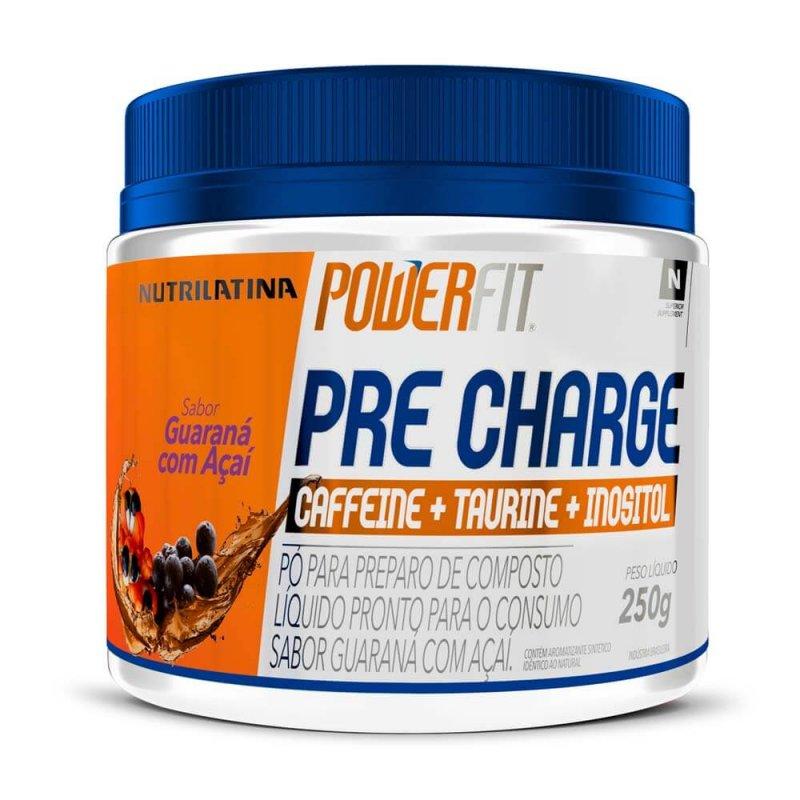 Pre Charge PowerFit Nutrilatina - 250g - Guaraná com Açaí