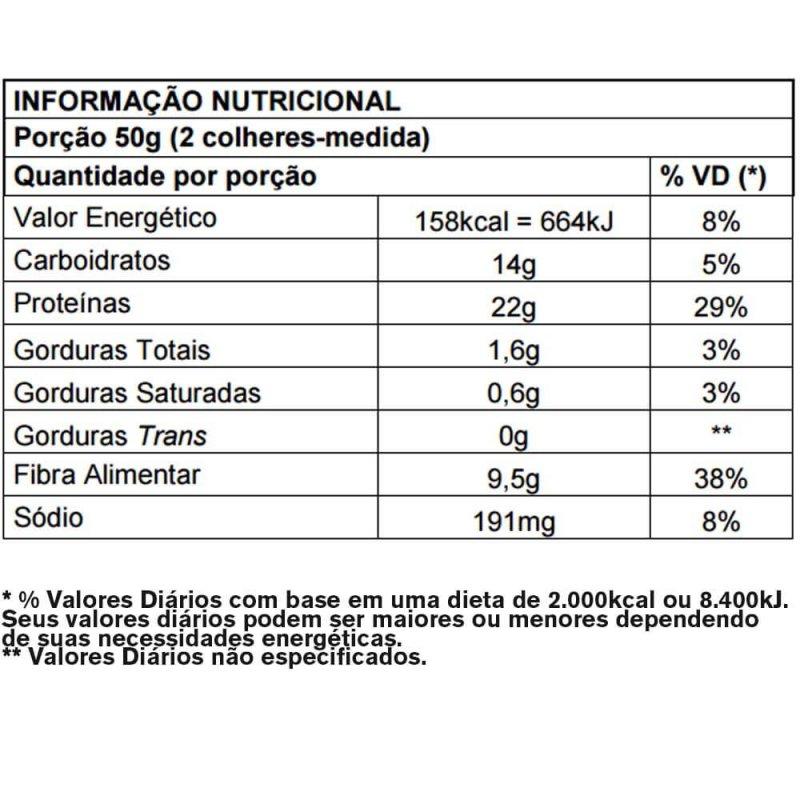 Whey Protein Crunch&Cream Nutrilatina Powerfit - 900g - Chocolate