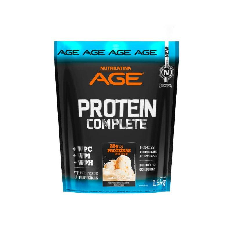 Proteína Complete Nutrilatina Age - 1,5kg - Baunilha
