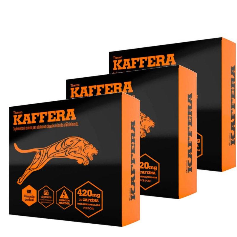 Kit com 3 Caixas Kaffera c/ 60 Cápsulas Cada