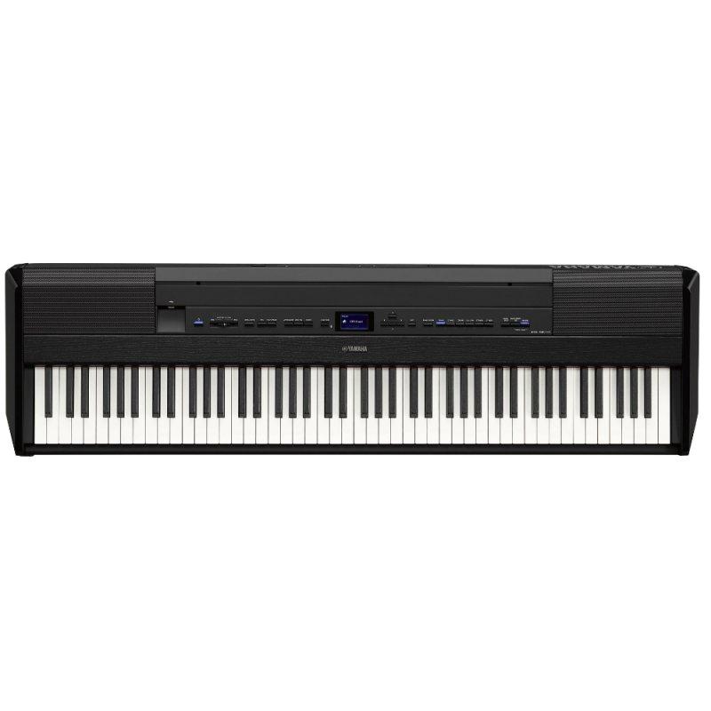 Piano Digital Yamaha P-515 Preto Com 256 De Polifonia 88 Teclas Acomp