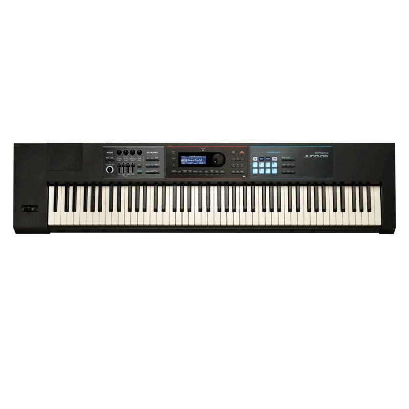 Sintetizador Roland JUNO - DS88 Preto com 88 Teclas e 1200 Timbres
