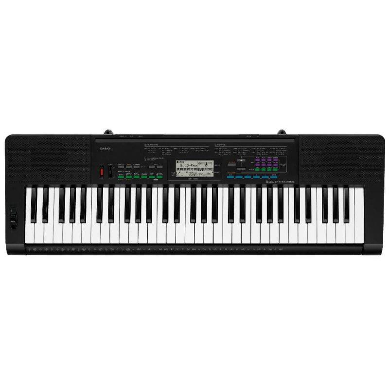 Teclado Musical Casio Ctk-3400sk Bivolt Preto Com 61 Teclas