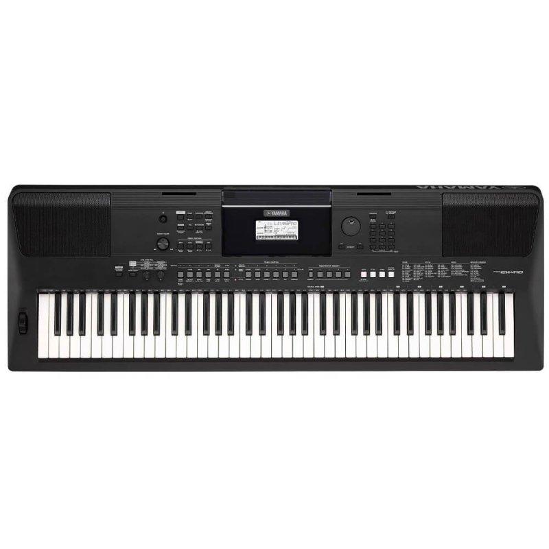 Teclado Musical Yamaha Psr-ew410 Preto Bivolt Com 76 Teclas E 758 Son