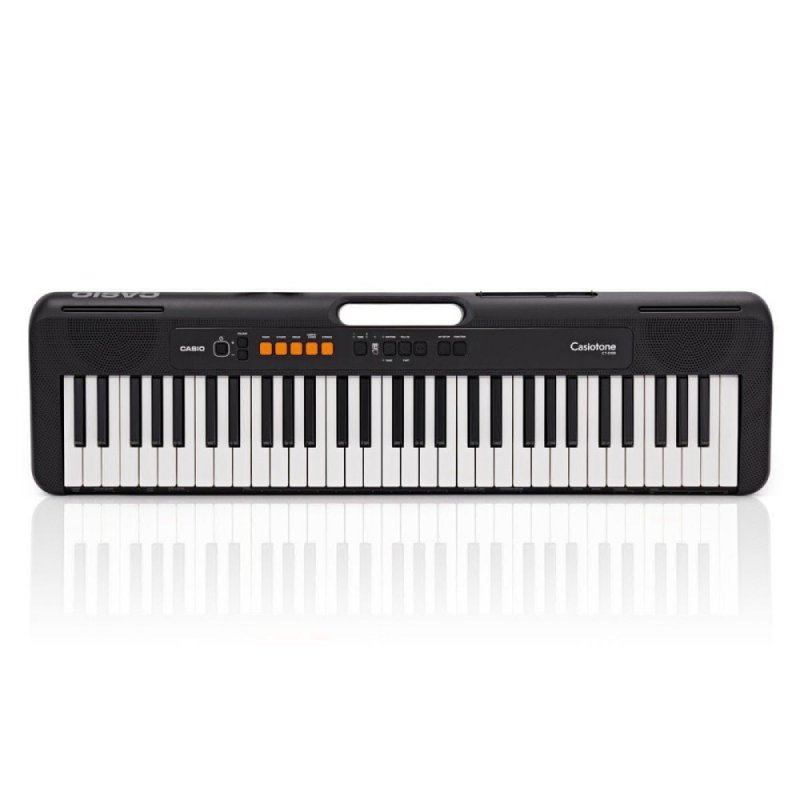 Teclado Musical Casiotone Ct-s100 Casio Preto 61 Teclas Bivolt E Supo