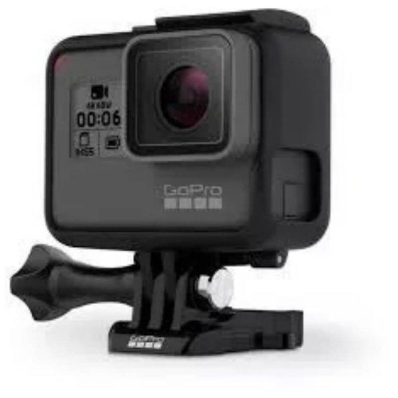Câmera Digital GoPro Hero 6 Black 12MP com Gravações em 4K60 À Prova D`Água