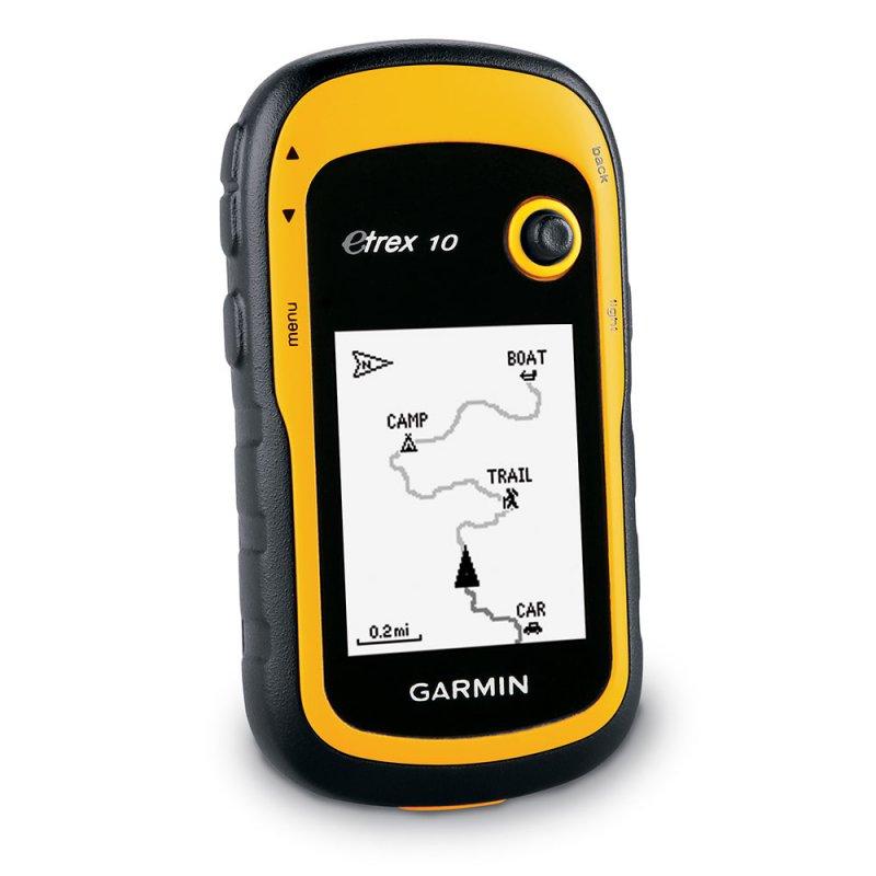 GPS Esportivo Portátil Garmin Etrex 10 Amarelo Com Tela de 2.2