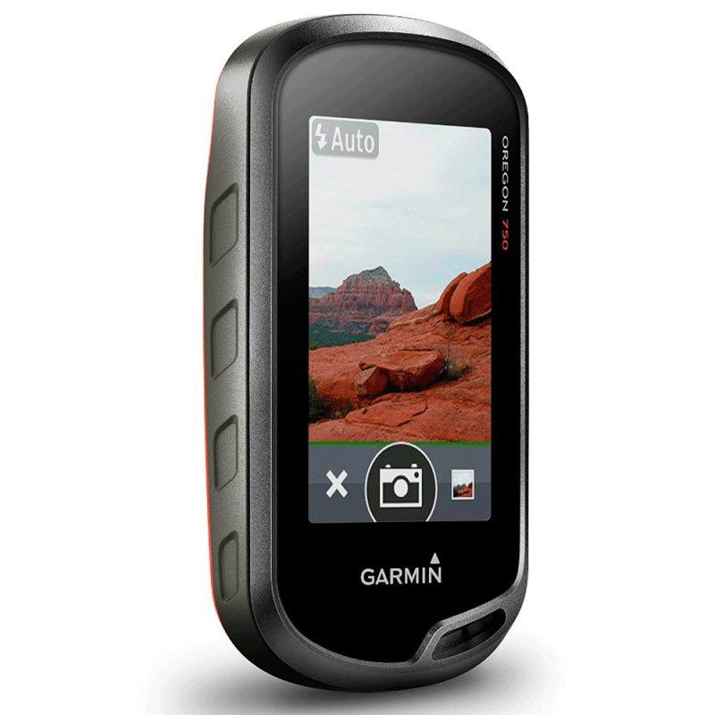 GPS Esportivo Garmin Oregon 750 4GB Wi-Fi Touchscreen com Câmera de 8MP