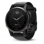 Relógio Multiesportivo Garmin Fenix 5S Sapphire Preto com Monitor Cardíaco no Pulso