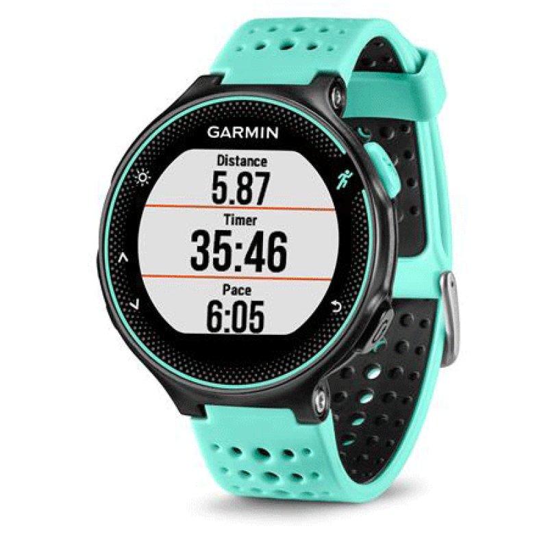 df1fd16d11b Relógio com Monitor Cardíaco Embutido Garmin Forerunner 235 Azul com  Bluetooth e GPS