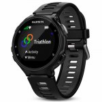 44bc157c6c4 Relógio Esportivo Garmin Forerunner 735XT Preto e Cinza com GPS e Monitor  Cardíaco