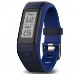 Monitor de Atividades Garmin VivoSmart HR plus Azul - Regular com monitor cardíaco