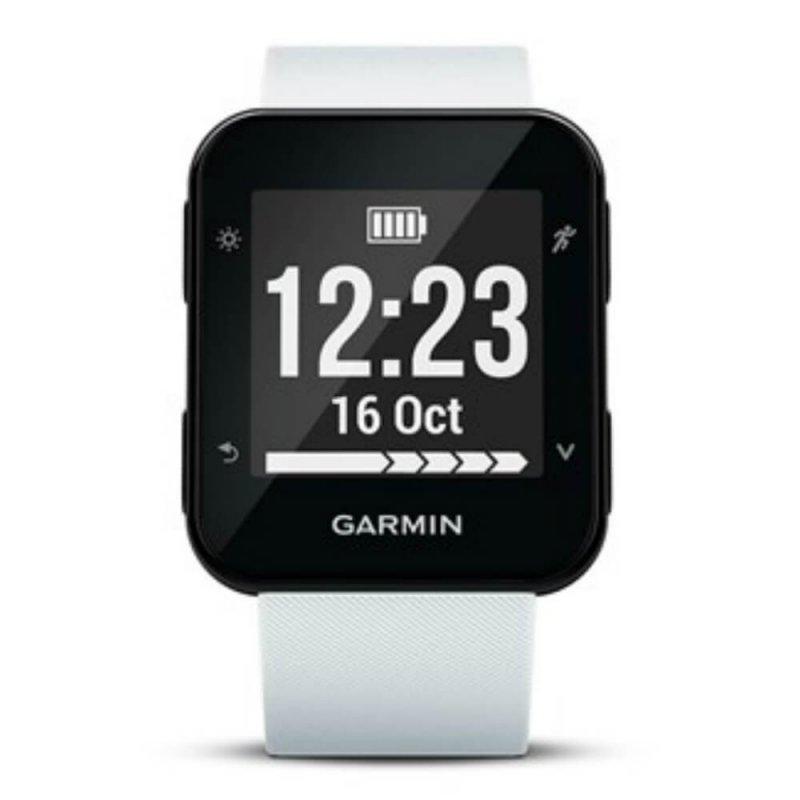 Relógio Esportivo Garmin Forerunner 35 Branco com Medição de Frequência Cardíaca