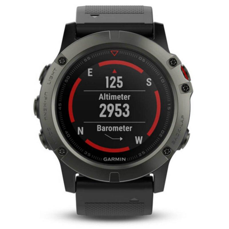 Relógio Multiesportivo Garmin Fenix 5X Sapphire Cinza com Monitor Cardíaco  no Pulso 9f3641efe3