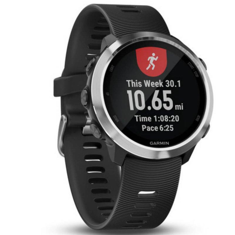 Relógio Esportivo Garmin Forerunner 645 Music Preto 010-01863-20 com GPS e Monitor Cardíaco