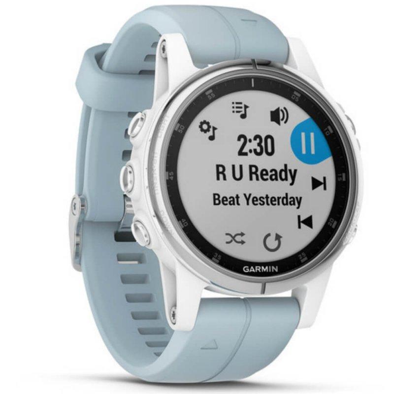 f4b41806848 Relógio Multiesportivo Garmin Fenix 5S Plus Verde com Monitor Cardíaco no  Pulso