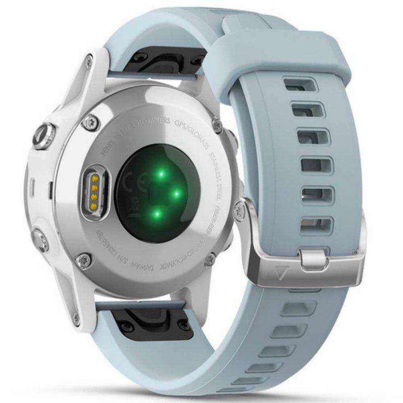 d3eef449715 Relógio Multiesportivo Garmin Fenix 5S Plus Verde com Monitor Cardíaco no  Pulso