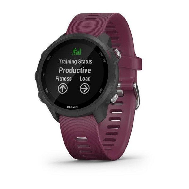 Relógio Esportivo Garmin Forerunner 245 Roxo Com Gps E Monitor Cardía