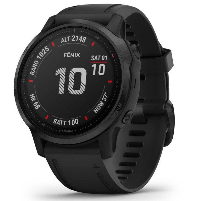 Relógio Multiesportivo Garmin Fenix 6s Pro Cinza Com Monitoramento Ca