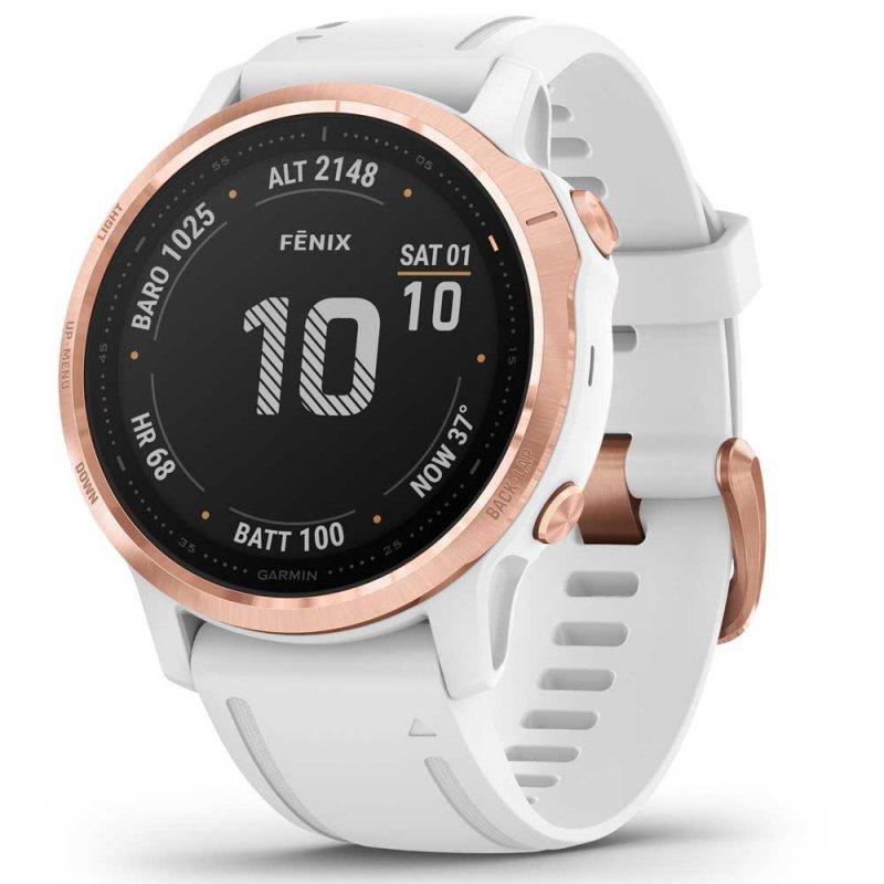 Relógio Multiesportivo Garmin Fenix 6s Pro Dourado Rose Com Monitoram