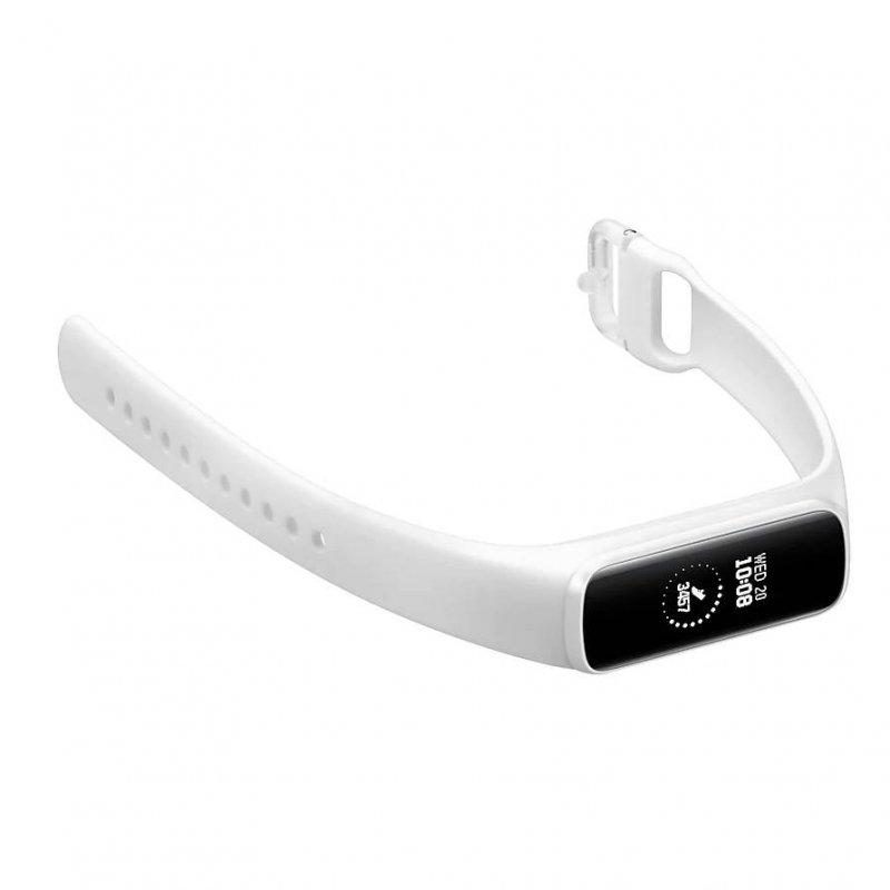Smartwatch Samsung Galaxy Fite Branco Com Monitoramento Cardíaco Blue