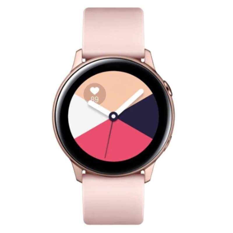 Smartwatch Samsung Galaxy Watch Active Rose Com Monitoramento Cardíac