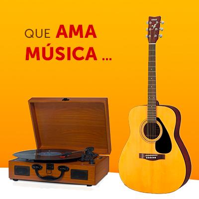 Que ama música