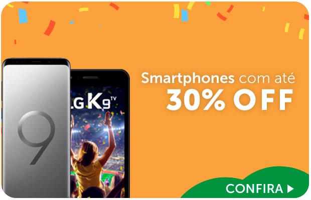 Smartphones com até 20% OFF