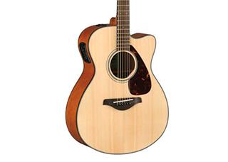 Violão Folk Eletroacustico Yamaha FSX800c