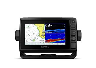 GPS Echomap Plus Garmin Tela de 7 Wi-Fi Integrado Mapa de Base Mundial Pré-Carregado