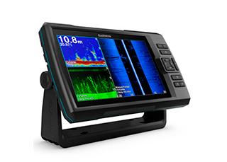 GPS Sonar Striker 9SV Plus Garmin com Tela de 9 com Wi-Fi e Transdutor para Sonar Chirp
