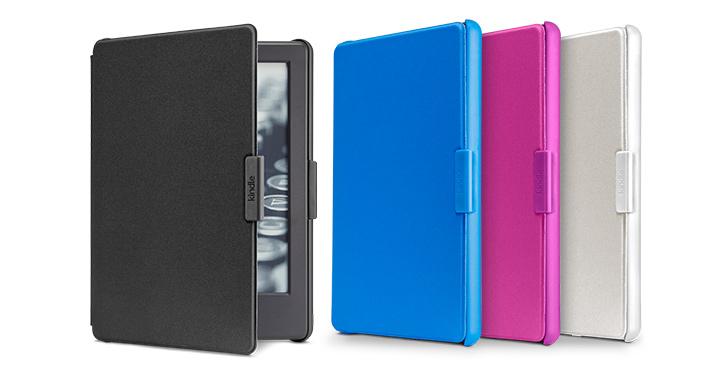 Capas Kindle Preto, Rosa, Azul e Branco
