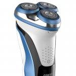 Barbeador Gama Italy 3 Lâminas GSH887 Sport W&D USB Preto/Azul/Branco