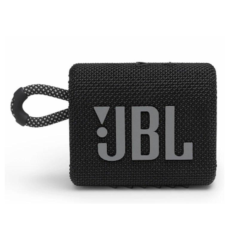Caixa de Som Bluetooth JBL GO3 IPX7 a Prova de Água Autonomia de 5 Horas Preto