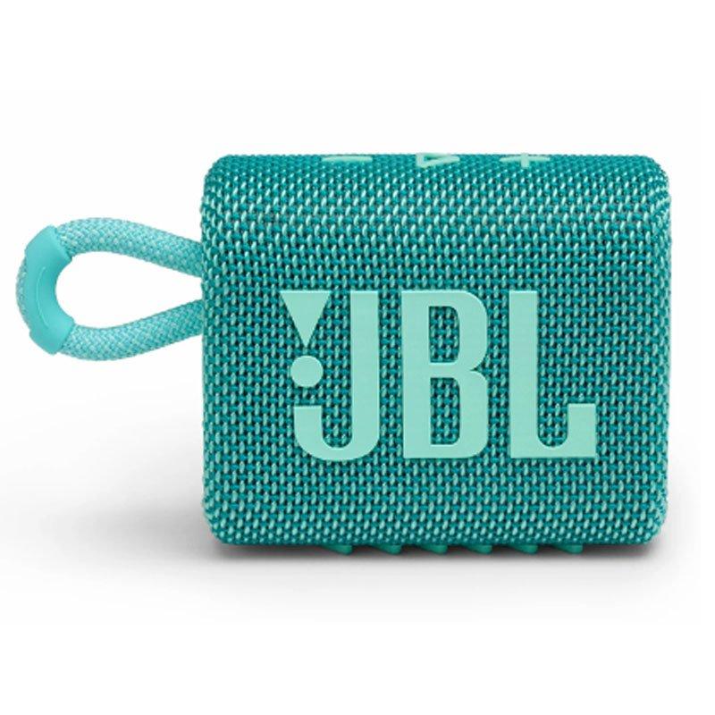 Caixa de Som Bluetooth JBL GO3 IPX7 a Prova de Água Autonomia de 5 Horas Verde Azulado