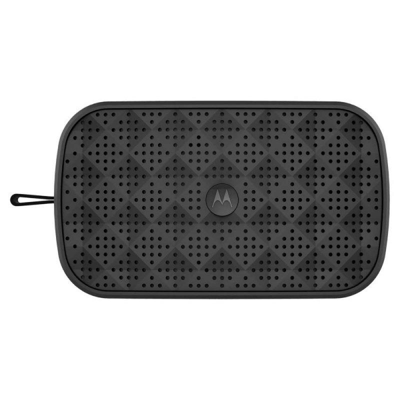 Caixa de Som Portátil Motorola Sonic Play 150 Bluetooth Estéreo e Rádio FM Preto