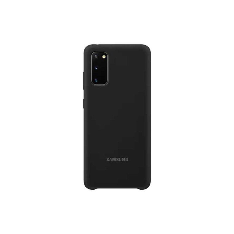 Capa para Galaxy S20 Silicone Preta