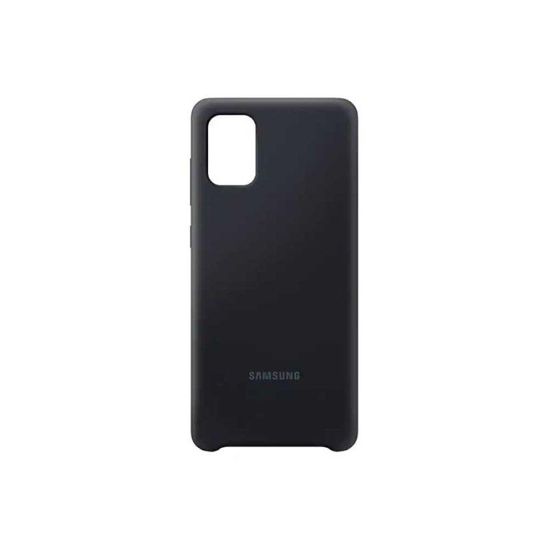 Capa Protetora Silicone Galaxy A71 - Preto