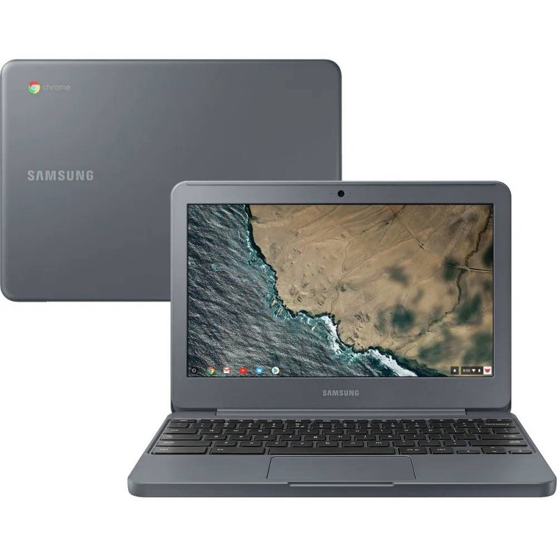 Chromebook Samsung 11,6 Intel Celeron 4GB Ram 16GB Grafite