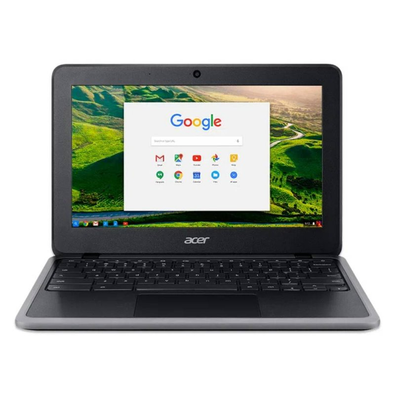 Chromebook Acer 11.6 C733T-C2HY Intel Celeron N4020 Touchscreen 4GB Ram 32GB eMMC Chrome OS Preto