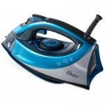 Ferro de Passar a Vapor Cerâmica Oster Turbo Steam 127V Azul