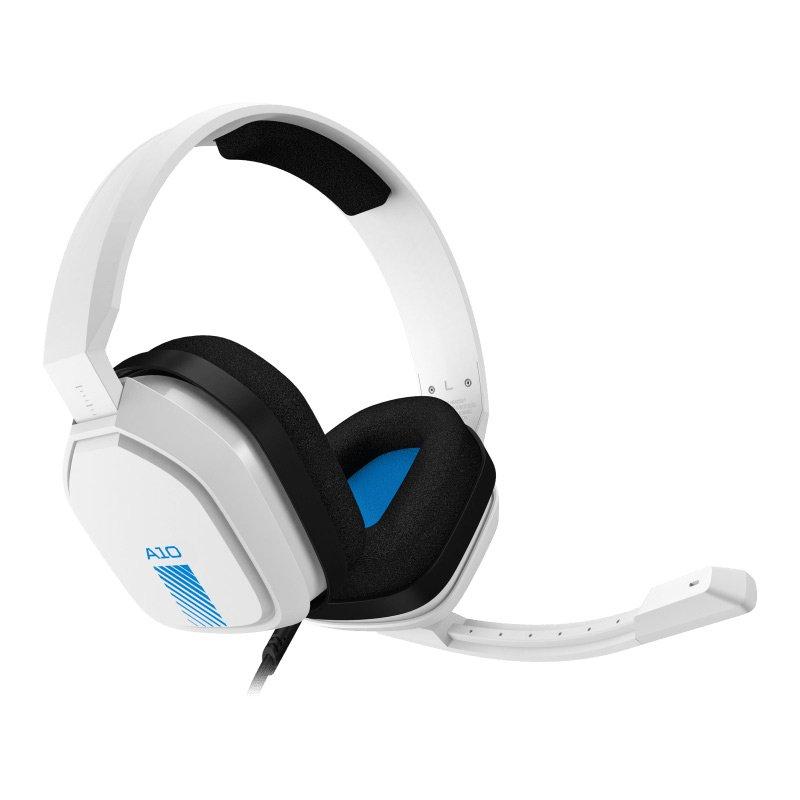 Headset para Jogos Astro A10 Logitech para PS4 Branco