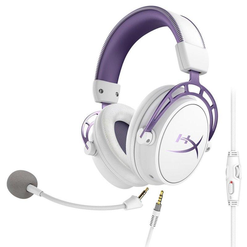 Headset Gamer HyperX Cloud Alpha Purple